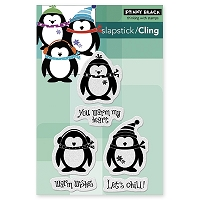 Penny Black - Slapsticks - Cling Stamp - Let's Chill