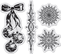 Penny Black - Slapsticks - Cling Stamp - Ornately