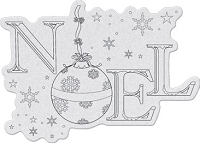 Penny Black - Slapsticks - Cling Stamp - Ornamental Noel