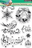 Penny Black - Clear Stamp - Christmas Harmony