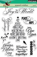 Penny Black - Clear Stamp - Season's Wishes