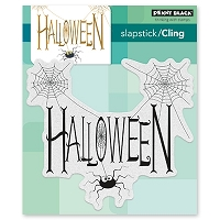 Penny Black - Slapstick Cling Stamp - Spidery Wishes