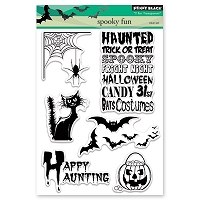 Penny Black - Clear Stamp - Spooky Fun