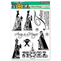 Penny Black - Clear Stamp - Three Kings
