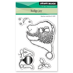 Penny Black - Clear Stamp - Hedgy Joy