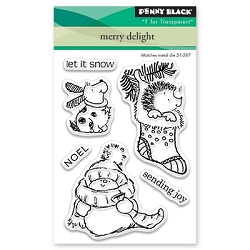 Penny Black - Clear Stamp - Merry Delight