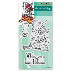 Penny Black - Slapstick Cling Stamp - Witching You
