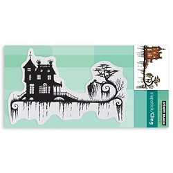 Penny Black - Slapstick Cling Stamp - Dark Night