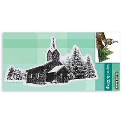 Penny Black - Slapstick Cling Stamp - Winter Solace