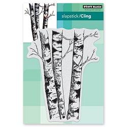 Penny Black - Slapstick Cling Stamp - Birches