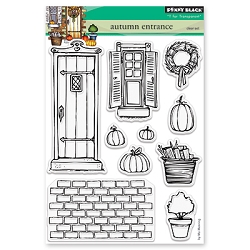 Penny Black - Clear Stamp - Autumn Entrance