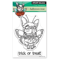 Penny Black - Clear Stamp - Halloween Treat