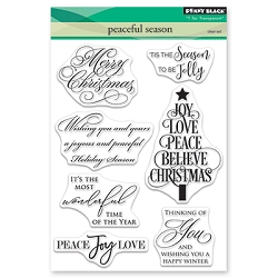 Penny Black - Clear Stamp - Peaceful Season