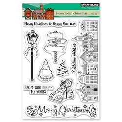 Penny Black - Clear Stamp - Hometown Christmas
