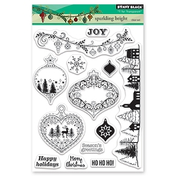 Penny Black - Clear Stamp - Sparkling Bright
