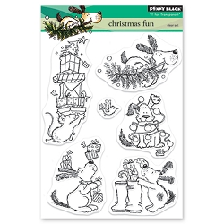Penny Black - Clear Stamp - Christmas Fun