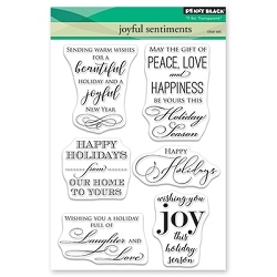 Penny Black - Clear Stamp - Joyful Sentiments