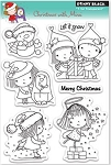 Penny Black Clear Stamp - Christmas with Mimi