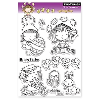 Penny Black - Clear Stamp - Spring Day