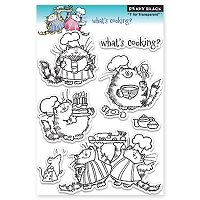 Penny Black - Clear Stamp - What's Cooking?