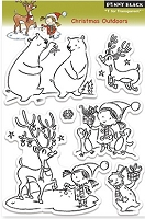 Penny Black - Clear Stamp - Christmas Outdoors