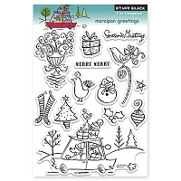 Penny Black - Clear Stamp - Marzipan Greetings