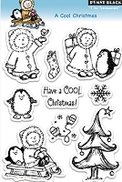 Penny Black - Clear Stamp - A Cool Christmas