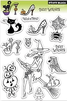 Penny Black - Clear Stamp - Best Witches
