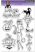 Penny Black - Clear Stamp - Cat Spell