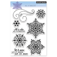 Penny Black - Clear Stamp - All is Bright