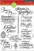 Penny Black - Clear Stamp - Christmas Cheer