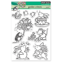 Penny Black Clear Stamp - Garden Critters