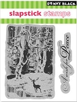 Penny Black-Slapsticks-Cling Stamp-Wish For Peace Set