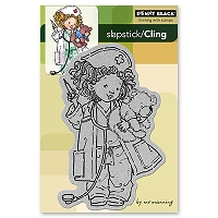 Penny Black - Slapsticks - Cling Stamp - Wishing You Well