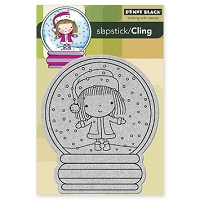 Penny Black - Slapstick Cling Stamp - Christmas Stage