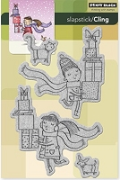Penny Black - Slapstick Cling Stamp - Gift Giving