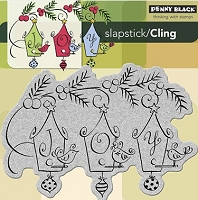 Penny Black - Slapstick Cling Stamp - Joyful Birds