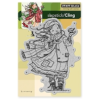 Penny Black - Slapsticks - Cling Stamp - Gift of Love
