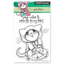 Penny Black - Clear Stamp - Purrfect