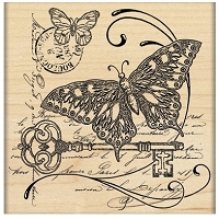 Penny Black - Wood Mounted Stamp - Gathering Together