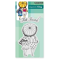 Penny Black - Slapstick Cling Stamp - Fab Friend