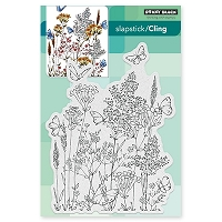 Penny Black - Slapstick Cling Stamp - Butterfly Dance