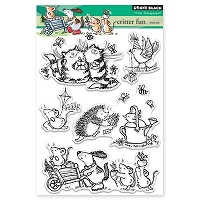 Penny Black - Clear Stamp - Critter Fun