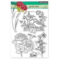 Penny Black - Clear Stamp - Gentle Day!