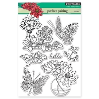 Penny Black - Clear Stamp - Perfect Pairing