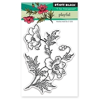 Penny Black - Clear Stamp - Playful