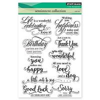 Penny Black - Clear Stamp - Sentiment Collection