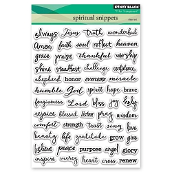 Penny Black - Clear Stamp - Spiritual Snippets