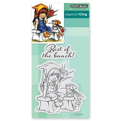 Penny Black - Slapstick Cling Stamp - The Bunch