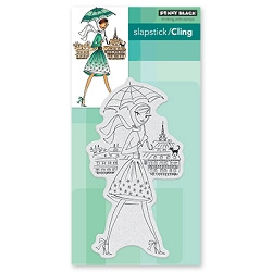 Penny Black - Slapstick Cling Stamp - Parisian Stroll